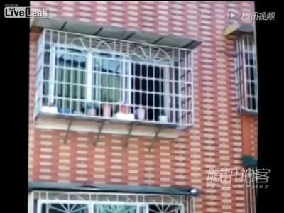 Китайский туалет на балконе ...