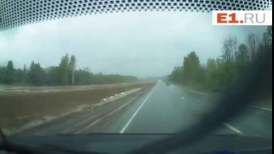 Лобовое столкновени на Трассе Екатеринбург-Пермь