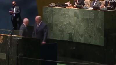 Выступление Александра Лукашенко на 70-й сессии - Генассамблее ООН ООН 27.09.2015