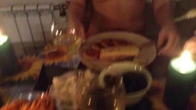 Романтический ужин ( не с мужем )
