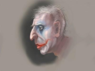Сольдат - старый клоун