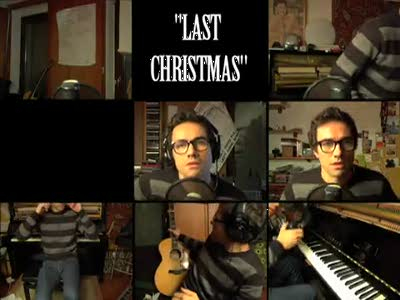 "David Fonseca sings ""Last Christmas"""