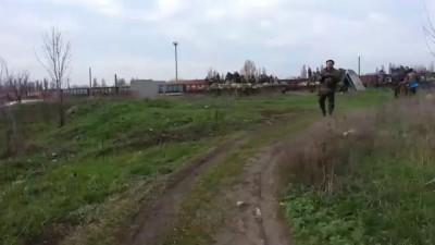Военная техника в Доброполье, Донецкая обл 09/04/2014 Часть 5.
