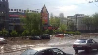 потоп в Иваново 12.05.2013