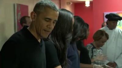 Обама сервисмэн