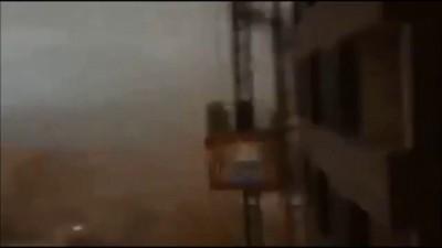 Крушение башенного крана 25.10 в Нетании (Израиль)