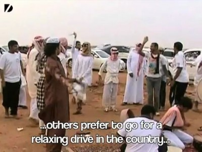 A Strange Car Show in Saudi Arabia. WTF.