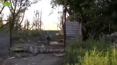 Пески Украина Донецк Бригада Ополчения Армии ДНР Восток На Передовой Обстрел ВСУ из АГС БМП 2 Зен