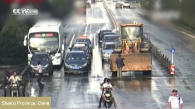 Водитель бульдозера застрелен полицией