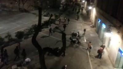 Беспорядки в Барселоне-2