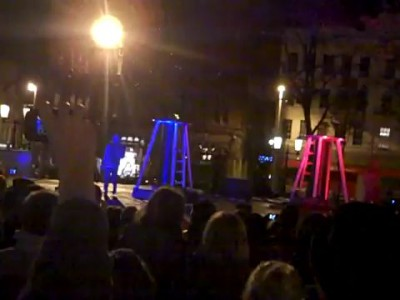Two men + two Tesla coils + special suits