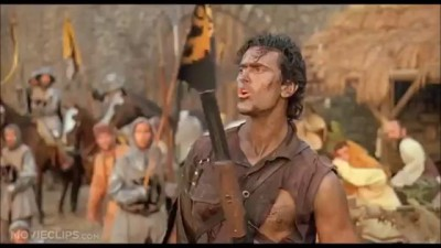 Best one liners from Bruce Campbell WW
