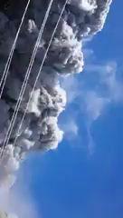 Невероятные кадры извержения японского вулкана Онтакэ