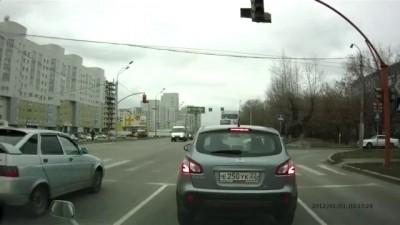 ДТП с автобусом на Бабуркина