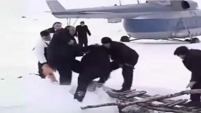 Президент Саакашвили упал с моста