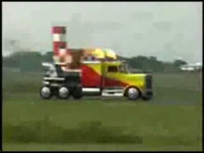 Реативный грузовик