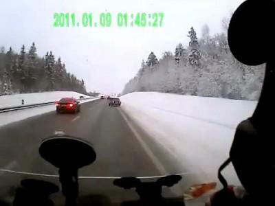 Взаимовыручка водителей