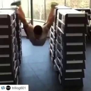 impossible is nothing!!!! невероятный прыжок