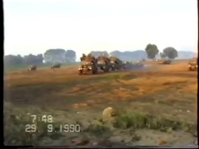 ЗГВО перед выводом войск, 7 миинут на переправу