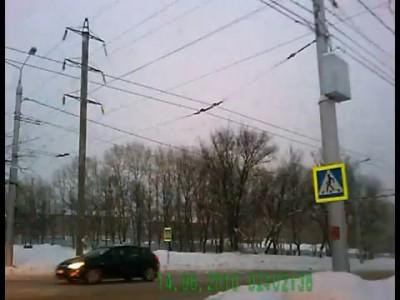 ДТП на пешеходном Пятилетки - Ломоносова