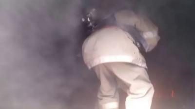 Тушение пожара в морском контейнере обучение по программе SOLAS
