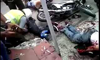 Колумбийские хрустики уходили от погони полиций