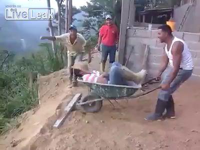 Как будят друзей в Бразилии