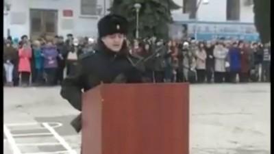 """Присяга в Севастополе под """"Аллаху акбар"""""""