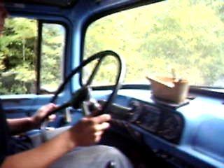 первый опыт по вождения ЗИЛа