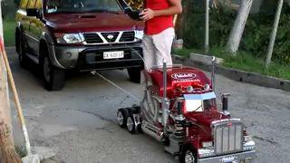 Модель грузовика
