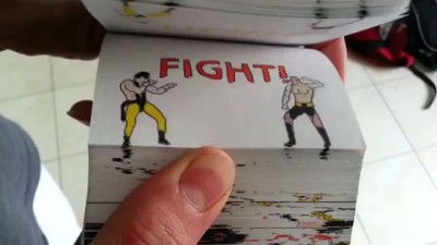Mortal Kombat Flipbook By Etoilec1(Jax vs Shang Tsung)