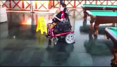 Дрифт на коляске