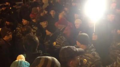 видео с Митинга против платных парковок в Москве 15.12.2015