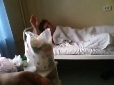 После наркоза :) Где моя рука !?