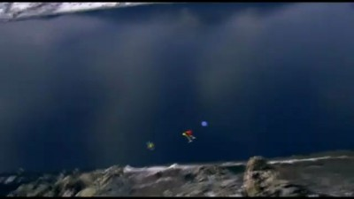 Wingsuit Base Jumping to Drum and Bass
