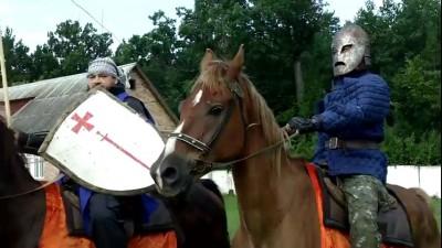 Рыцари в Житомире