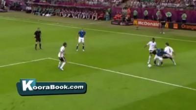 Germany vs Italy 1-2 All Goals & Highlights - Germania 1x2 Italia - 28.06.2012 Balotelli