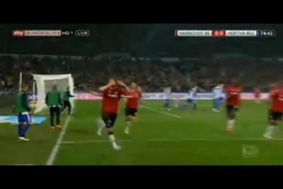 Hannover 1:0 Hertha