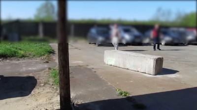 Тягаем бетонный куб полным приводом