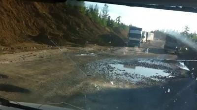отрезок федеральной дороги Ивдель-Советский