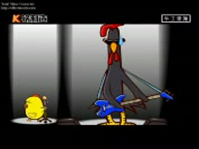 Китайский клип про жизнь цыплят.