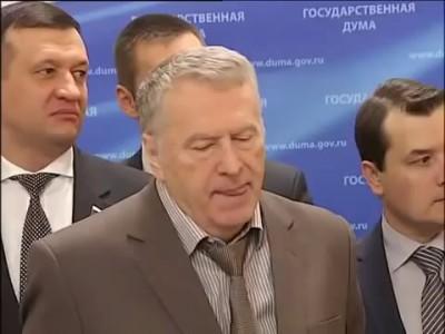 Жириновский ответил украинскому журналисту