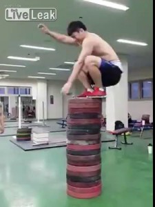 Korean powerlifters
