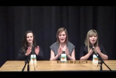 Девушки на шоу талантов
