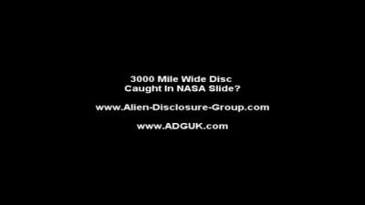 Диск над Землей 5000 км в диаметре
