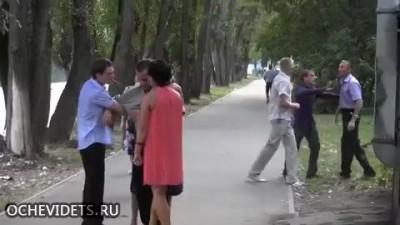 Махач на свадьбе