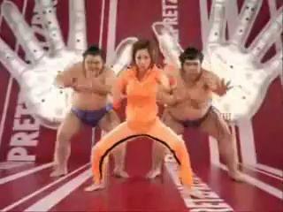 Японская реклама солёных палок!