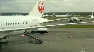From Moscow (DMD) to Tokyo (NRT) Boeing 787 Dreamliner JL442