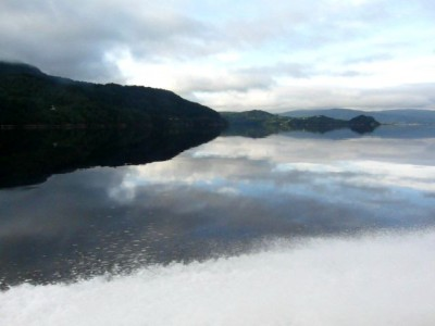 Норвегия (фьорд, утро)