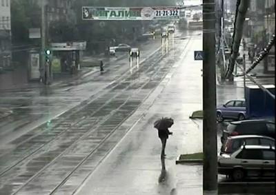 Неуправляемый трамвай в Перми